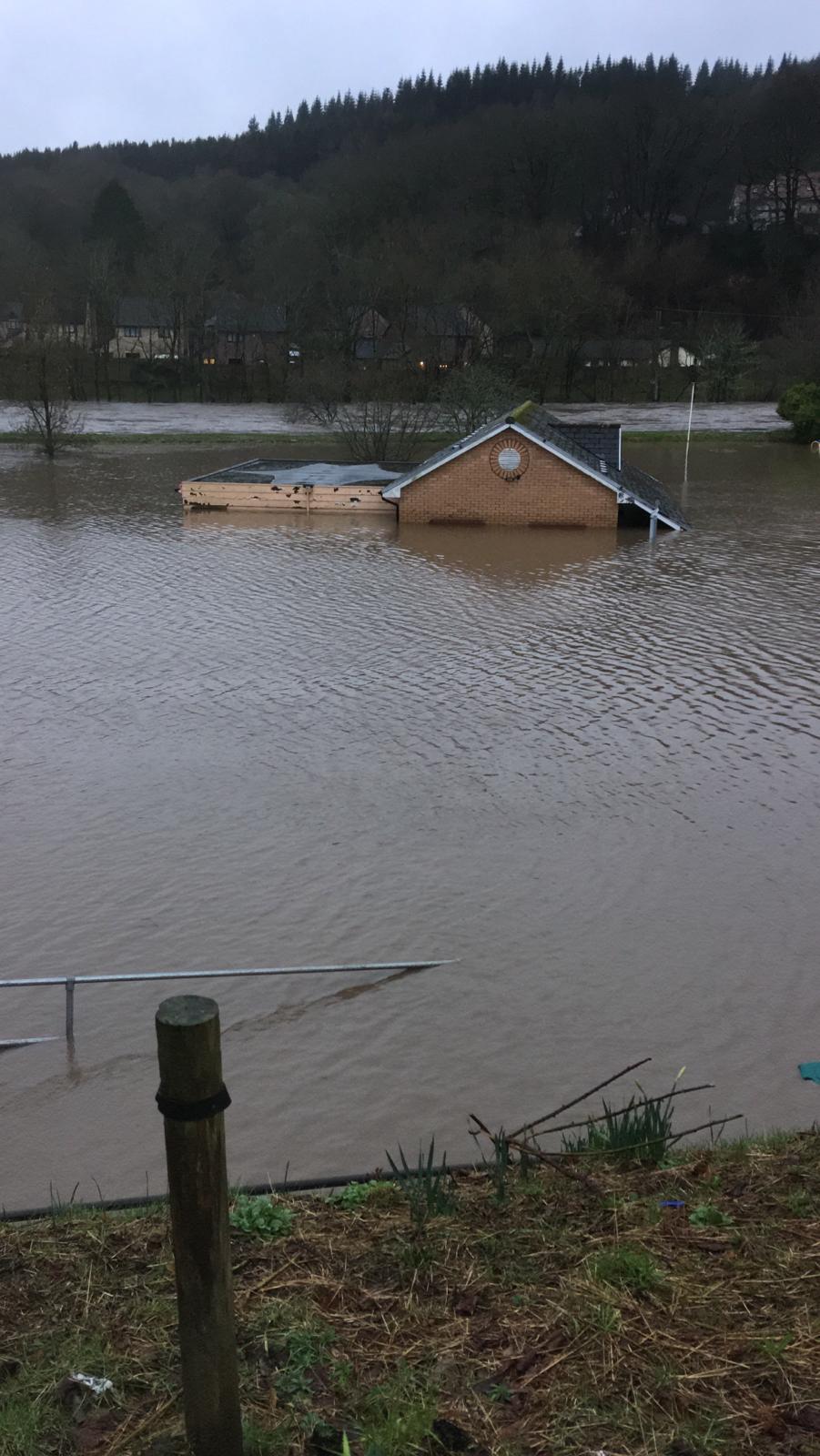 Taffs Well Flood