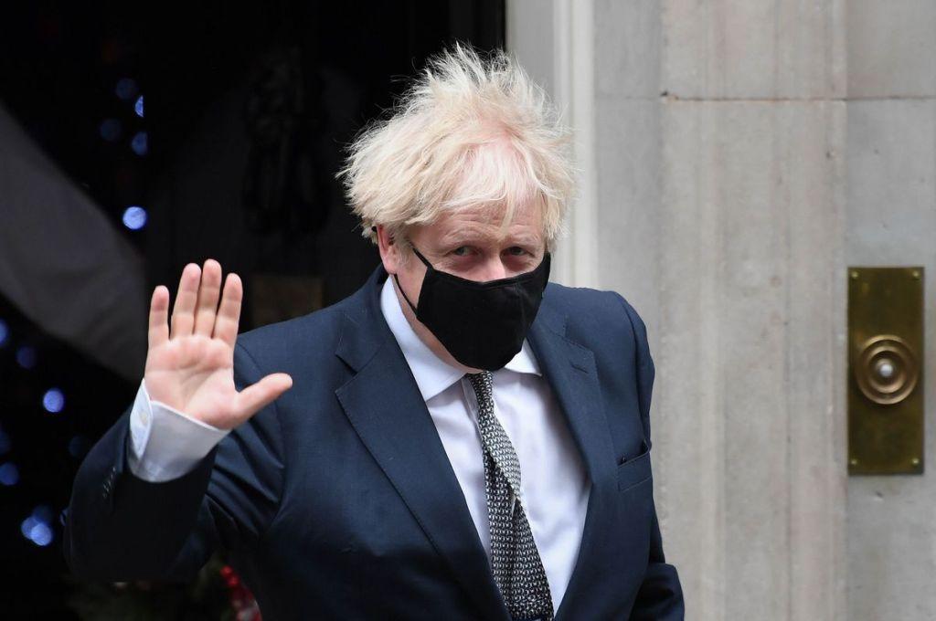 Boris Johnson Christmas 2020